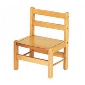 Chaise basse en bois - Combelle