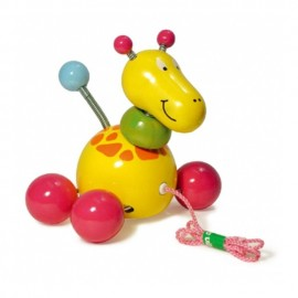 Baby Paf la girafe - jouet à tirer - Vilac
