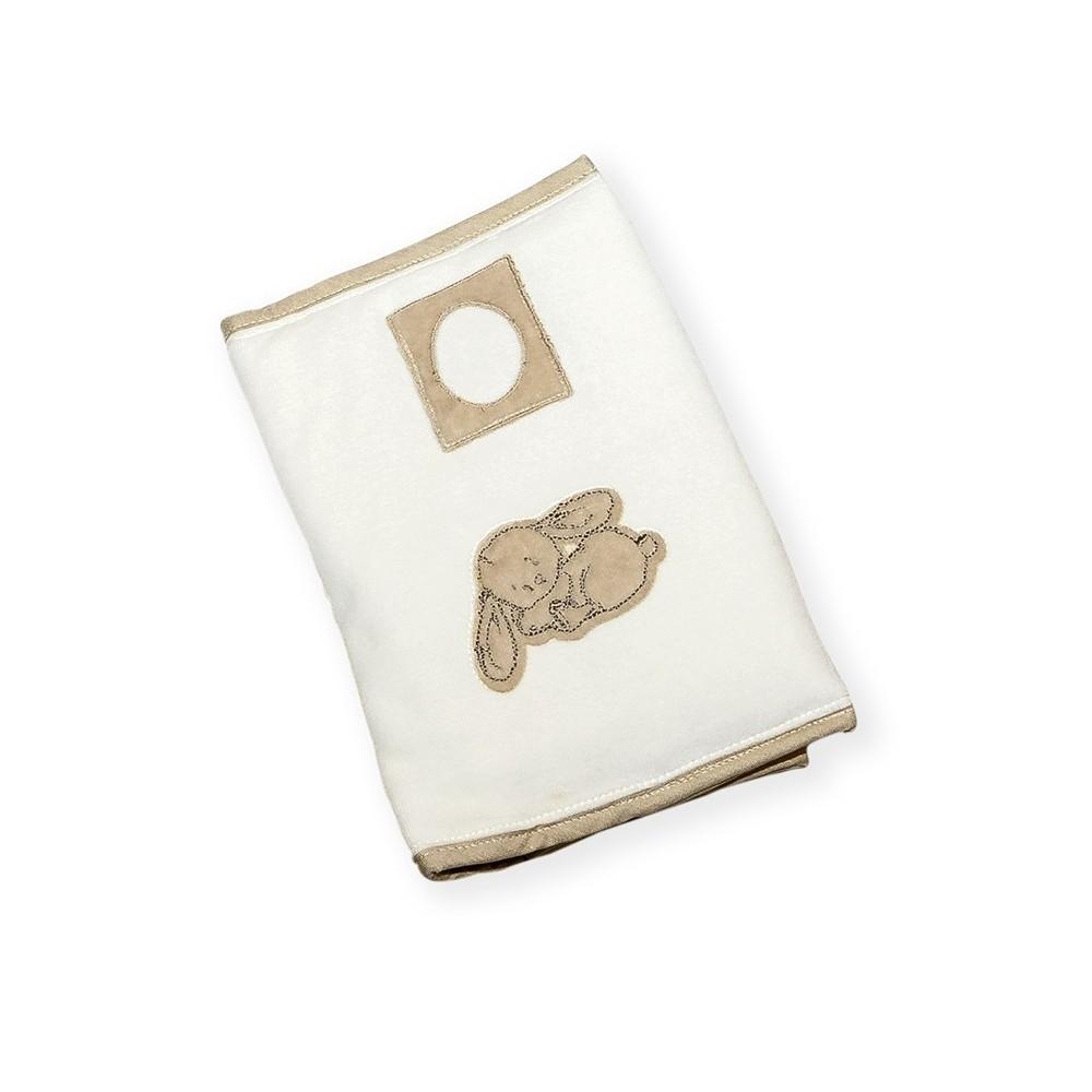 housse carnet de sant coquin le lapin la ptite grenouille. Black Bedroom Furniture Sets. Home Design Ideas