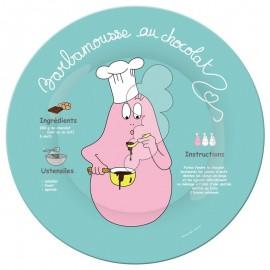 Assiette Barbamousse au chocolat - Petit Jour Paris