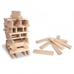 Batibloc naturel 100 pièces en bois - Vilac