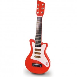 Guitare rock rouge - Vilac
