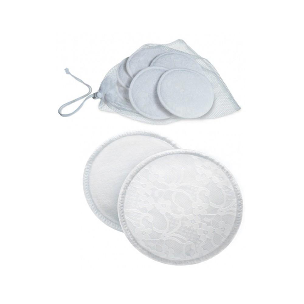 6 coussinets d'allaitement lavables - Avent