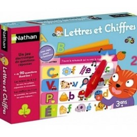 """Jeu électronique """"lettres et chiffres"""" - Nathan"""