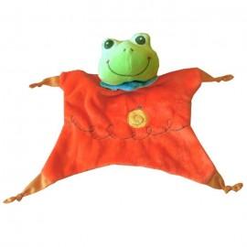 Doudou Grenouille marionnette