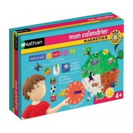 Mon calendrier magnetico - Nathan