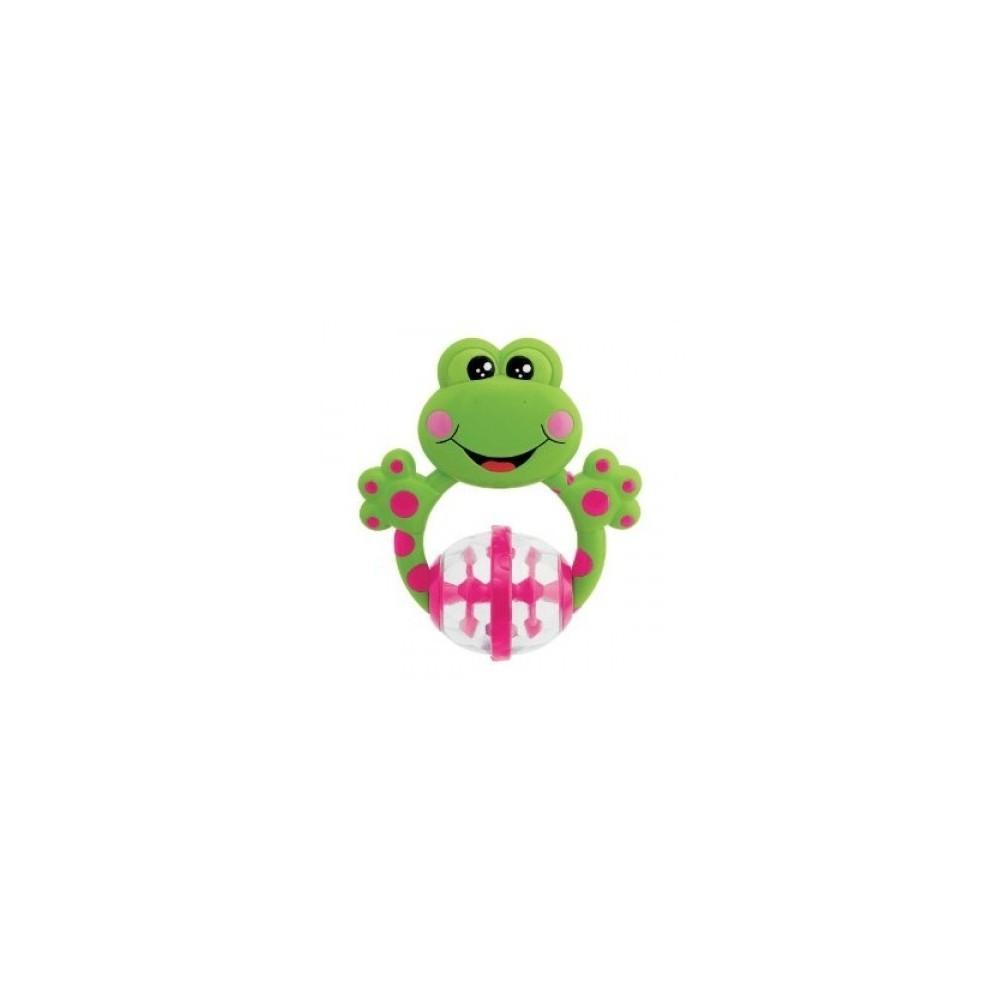 Hochet de dentition Pat'mouille la grenouille - Chicco