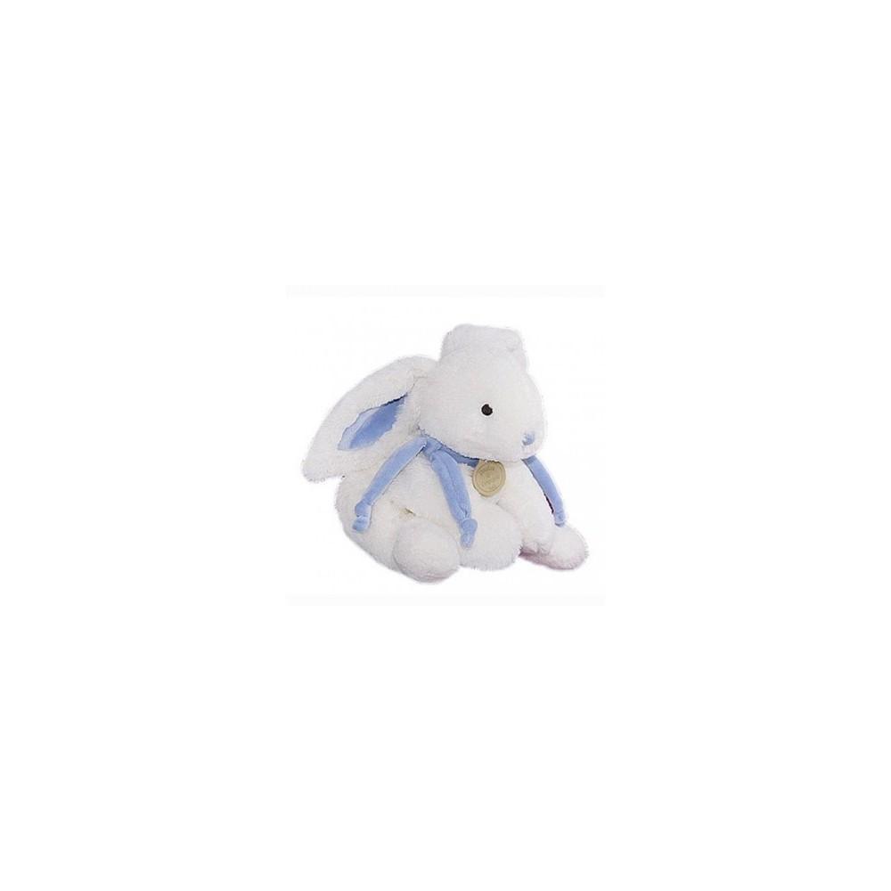 Lapin bonbon bleu 20 cm - Doudou et Cie