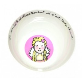 """Bol princesse """"je soufle délicatement si c'est trop chaud"""""""