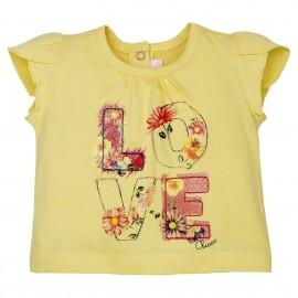 """Tee-shirt """"Love"""" à paillettes 3 mois - Chicco"""