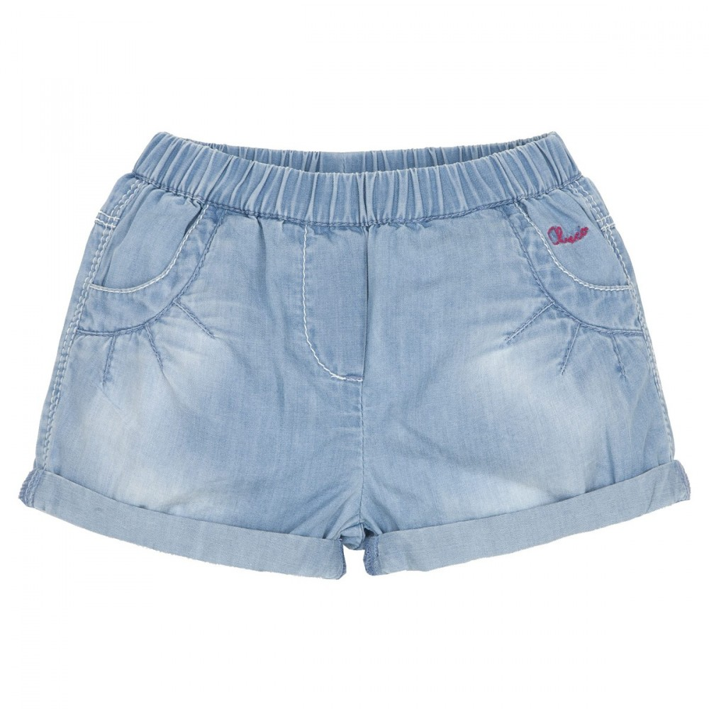 Short fille en denim 3 mois  - Chicco