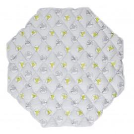 Tapis de parc octogonal matelassé - Combelle
