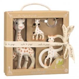 Trio cadeau So'Pure Sophie la girafe - Vulli