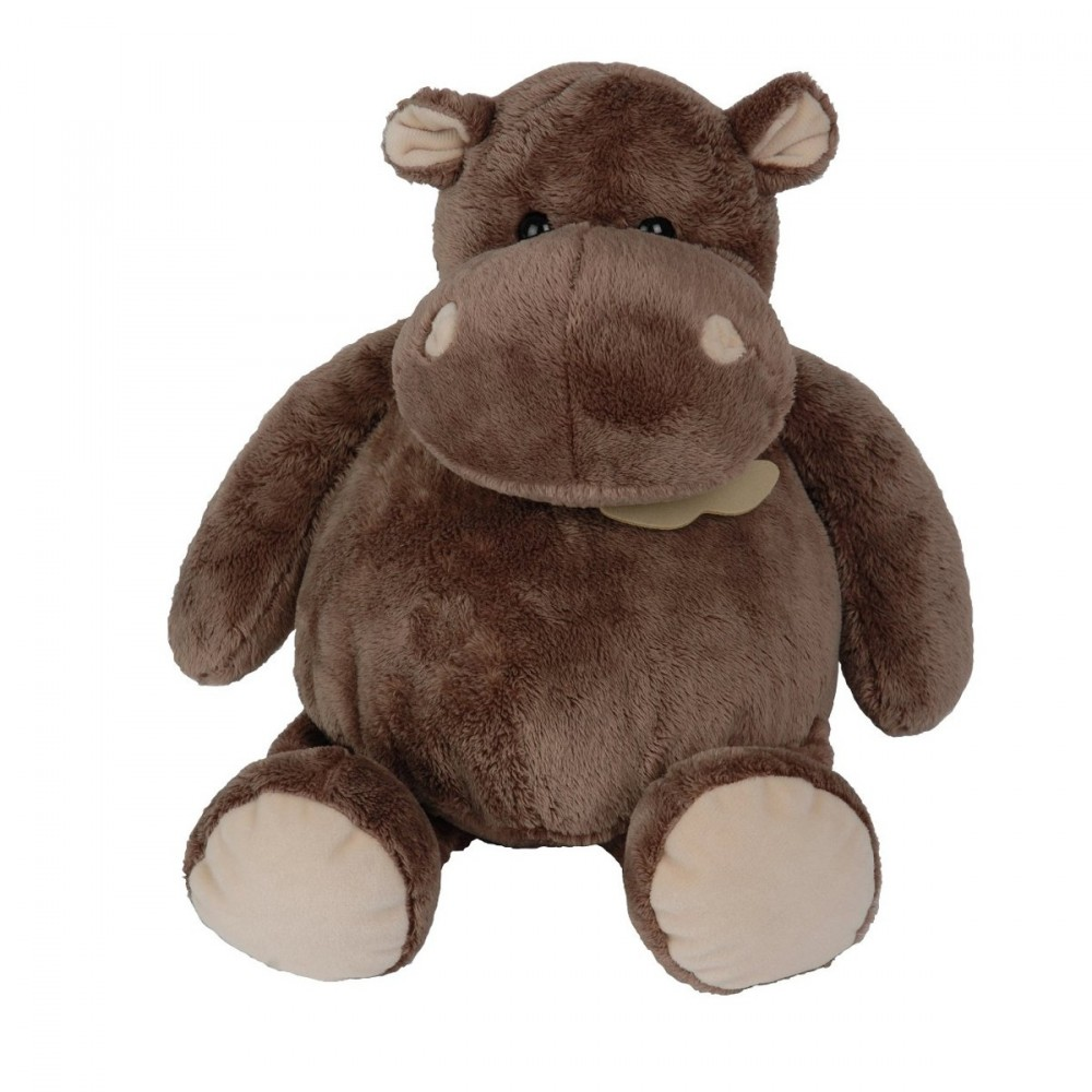 Hippopotame assis peluche - Histoire d'Ours HO1058