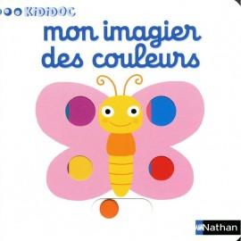 Livre - Mon imagier des couleurs - Nathan