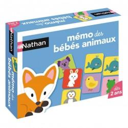 Mémo des bébés animaux - Nathan