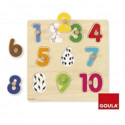 Encastrement des chiffres - 53074 Goula