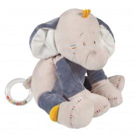 Doudou d'activités d'éveil Bao l'éléphant - Noukies