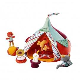 Le cirque et ses acrobates - Lilliputiens