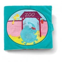 Livre en tissu Albert au zoo - Lilliputiens