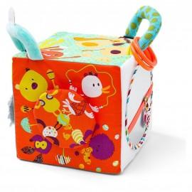 Cube d'activités Cirque en tissu - Lilliputiens