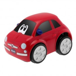 Voiture Fiat 500 rouge Turbo Touch - Chicco
