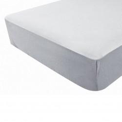 Drap housse gris perle - Douxnid