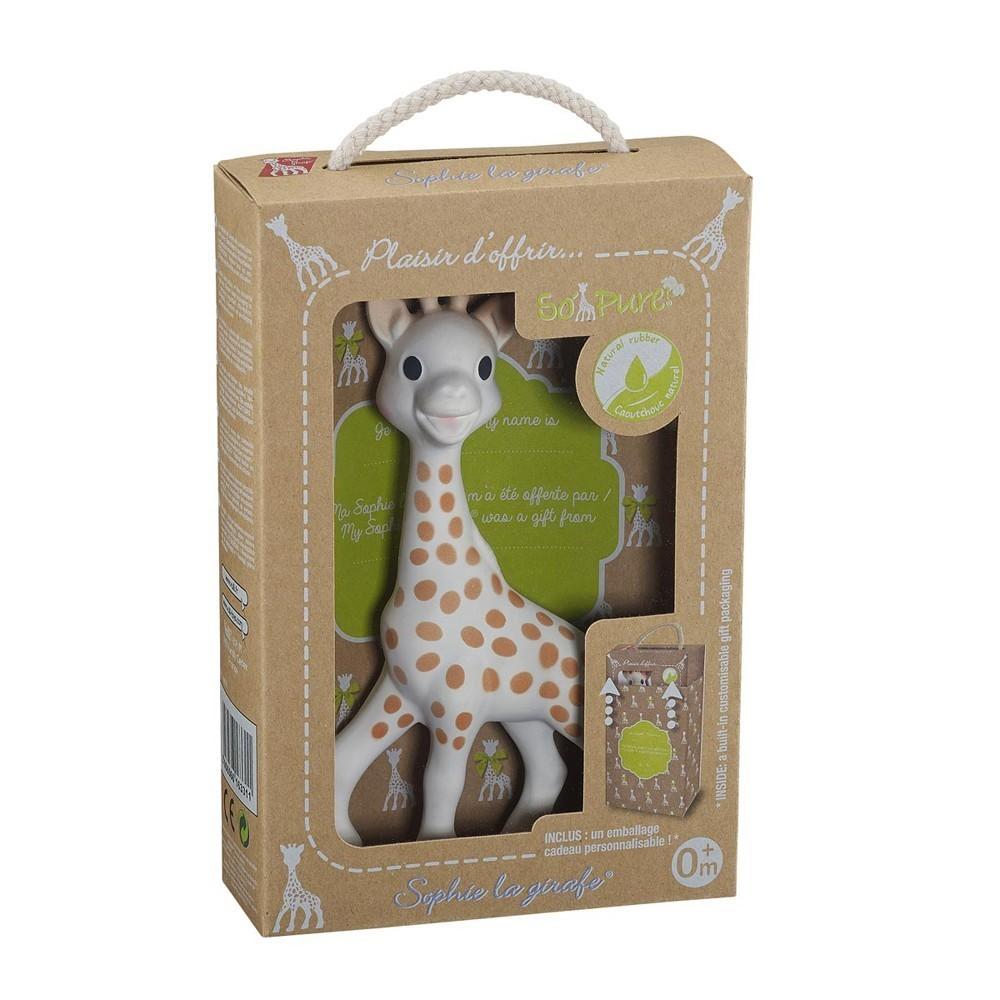 Girafe Sophie sous coffret cadeau So'pure
