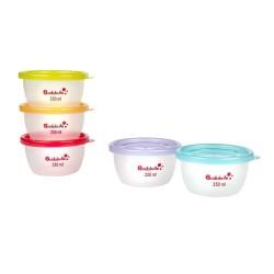 Pots de conservation Maxi Portions - Badabulle