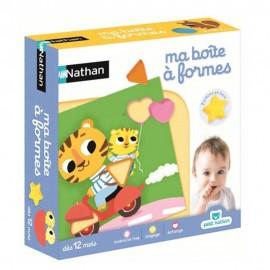 Ma boite à formes - Nathan