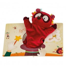 Livre avec marionnette Georges - Lilliputiens