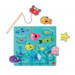 Puzzle pêche magnétique - Goula