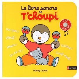 Le livre sonore de T'choupi - Nathan