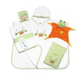"""Cadeau de naissance """"Une souris verte"""""""