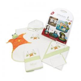"""Cadeau de naissance """"Alouette"""" personnalisé au prénom du bébé"""