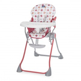 Chaise-haute Pocket Meal Red - Chicco