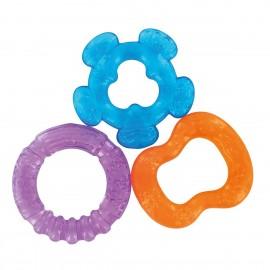 3 anneaux de dentition à rafraichir (bleu/violet/orange) - dBb Remond