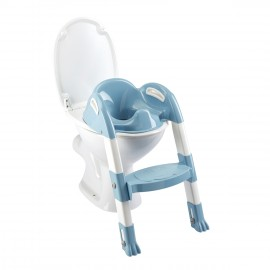 Réducteur de WC Kiddyloo bleu myosotis - Thermobaby