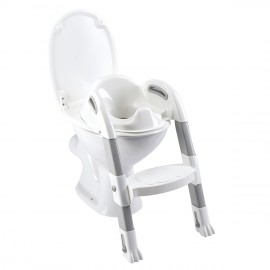 Réducteur de WC Kiddyloo blanc muguet - Thermobaby