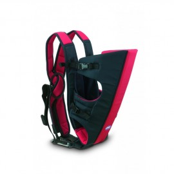 Porte-bébé 3 en 1 Dual marine/rouge - Jané