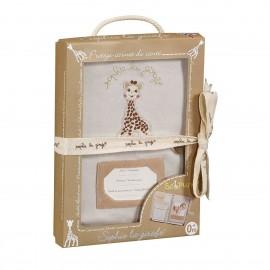 Protège carnet de santé So'Pure Sophie la girafe