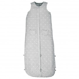 Gigoteuse été en coton gris 90-110 cm - Noukies