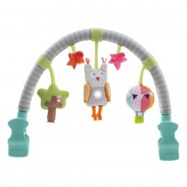 Arche de poussette musicale hibou - Taf Toys
