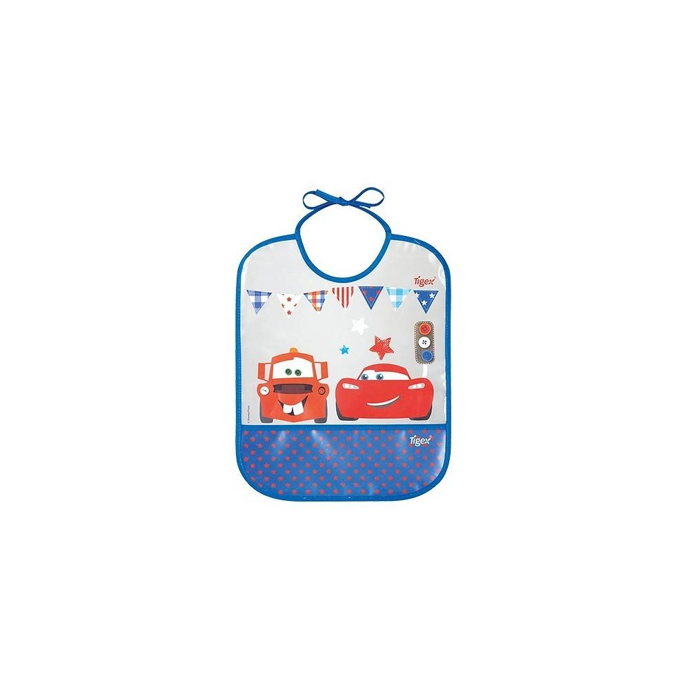 Bavoir en plastique Cars - Tigex