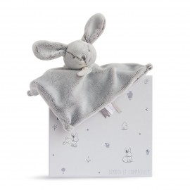 Doudou Lapin gris perle - Doudou et Compagnie