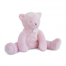 Pantin chat rose 35 cm - Doudou et Compagnie