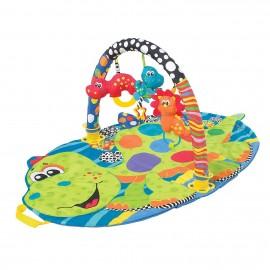 Tapis et portique d'éveil portable Dino - Playgro
