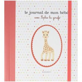 Le journal de mon bébé avec Sophie la girafe - Marabout