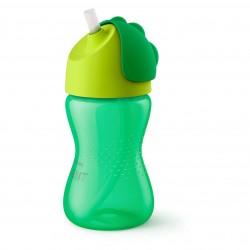 Tasse avec paille 260 ml vert - Avent