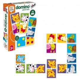 Domino des animaux avec numéro - Diset